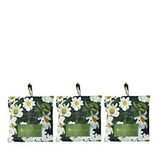 The Camouflage Company 3 Pack Foldaway Daisy Print Bags