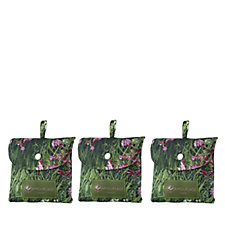 806282 - The Camouflage Company 3 Pack Foldaway Long Grass Print Bags