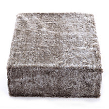 Cozee Home Frosted Sable Faux Fur Throw