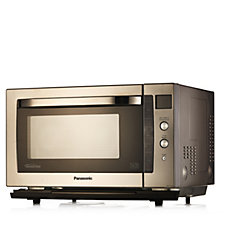 805084 - Panasonic Stainless Steel Combination Microwave Oven and Grill
