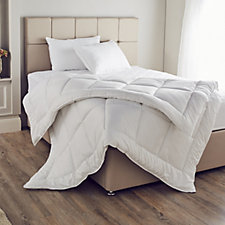 Hotel Collection Pillows, Duvet & Protector 4 Piece Set