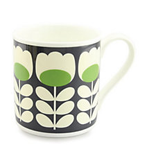 Orla Kiely Big Mugs x4