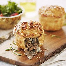 Simple Simon's 4 Piece Steak, Blue Cheese & Mushroom Pie Selection