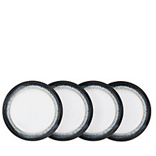 Denby Halo 4 Piece Medium Plates