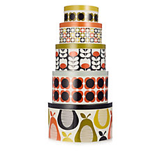 Orla Kiely 5 Piece Assorted Storage Set