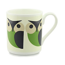 Orla Kiely Set of 4 Animal Mugs