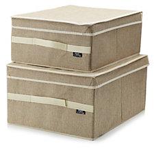 Set of 2 Maison Storage Box