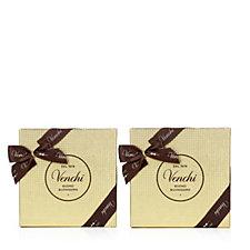 Venchi 1878 Italian Set of 2 Golden Boxes with Chocolates