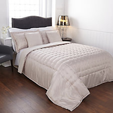 Kelly Hoppen Embroidered Circles Reversible Bedspread