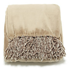 Cozee Home Plush Throw with Fringe 150cm x 200cm