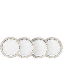 Denby Natural Canvas Set of 4 Dinner Plates