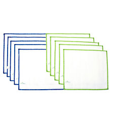 ecoegg Pack of 10 Antibacterial Wood Fibre Cloths