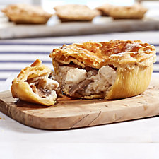 The Real Pie Company 12 Piece Steak or Chicken Pie Selection