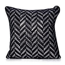 JM by Julien Macdonald Deco Collection Geometric Sequin Cushion