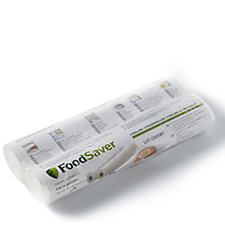 FoodSaver Pack of 2 28 x 5.5m Large Rolls
