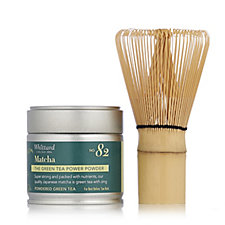 Whittard of Chelsea Powdered Matcha Green Tea & Bamboo Whisk Set