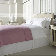 Northern Nights 100% Cotton Striped Quilted Throw