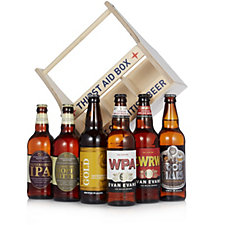 Best of British Beer 6 Craft Beer Bottles with Thirst Aid Box