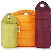 804094 - Cook's Essentials Set of 3 Suction Storage Bags