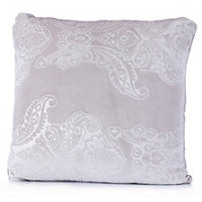Kelly Hoppen Damask Embossed Velvet Cushion