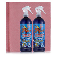 Fast Attack Stain & Odour Eliminator 4 Piece Kit