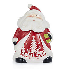 Ceramic Santa Cookie Jar