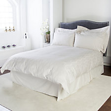 Kelly Hoppen 800TC Jacquard Egyptian Cotton 6 Pc Geometric Duvet Set
