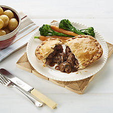 The Real Pie Company 6 Piece Steak Pie Selection