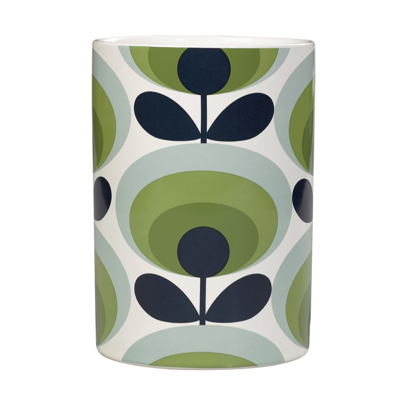 Orla Kiely 70u0027s Flower Round Utensil Holder   806798