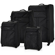 Sirocco 4pc Super Light Weight Luggage Set