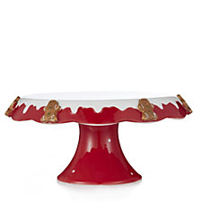 Ceramic Christmas Cake Stand