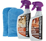 Rejuvenate Auto Leather/Vinyl Cleaner & Conditioner Kit - V35000