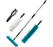 Fuller Brush 5 Piece Full Connect Complete Cleaning System - V33301
