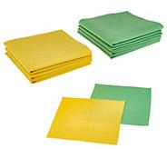 Bio Cleaner Set of 9 Streak-Free Cleaning Cloths - V34801