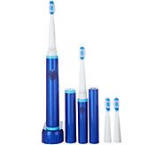 Pop Sonic Two Tone Pro Sonic Toothbrush and Travel Brush - V34901