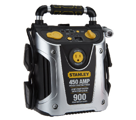 Stanley 450 amp Total Power Station w/200W Inverter