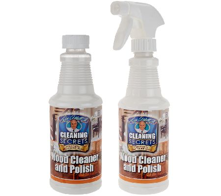 Don Aslett's Set of 2 16oz.  Professional Wood Cleaner &Polish