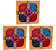 Scrub Mommy Set of (3) Multi-color 4-piece Sponge Gift Packs - V34303