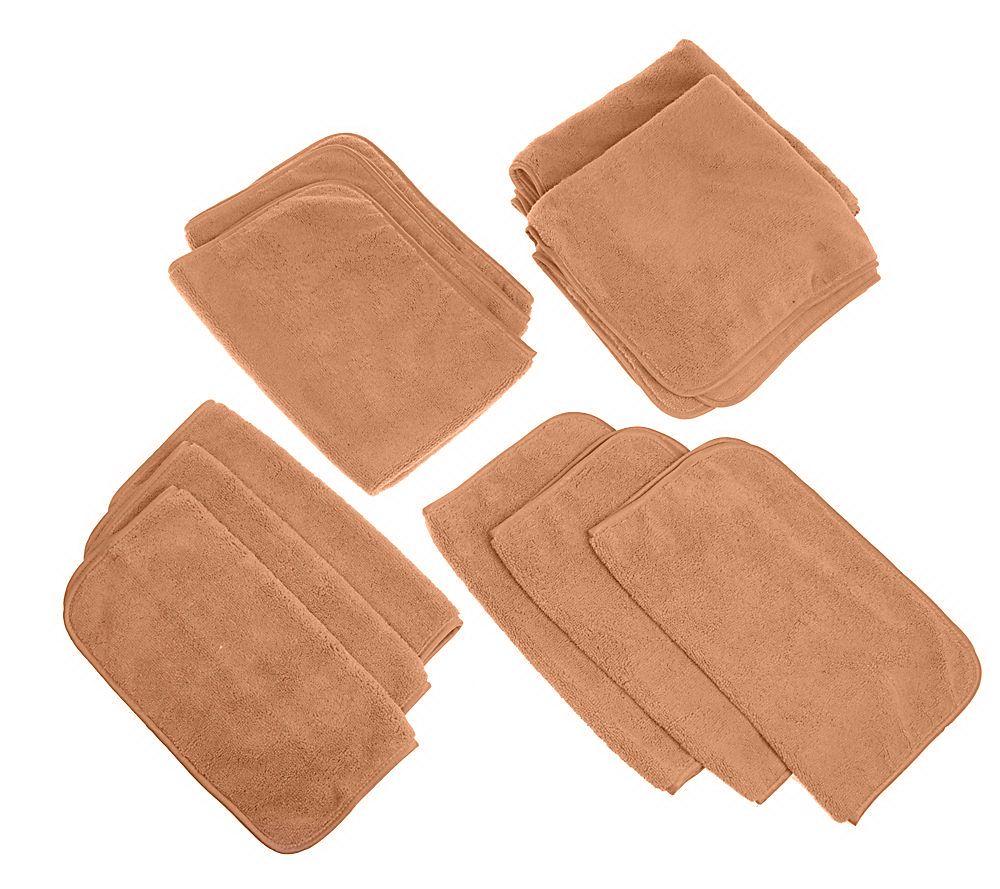 Microfiber Towel Kit: Don Aslett's 10-piece Ultra Plush Microfiber Towel Set