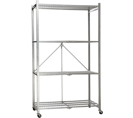 Pop It 4 Tier Heavy Duty Collapsible Storage Shelf With