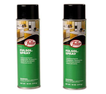 Fuller Brush Fulsol Degreaser Spray Set Of 2 V109206