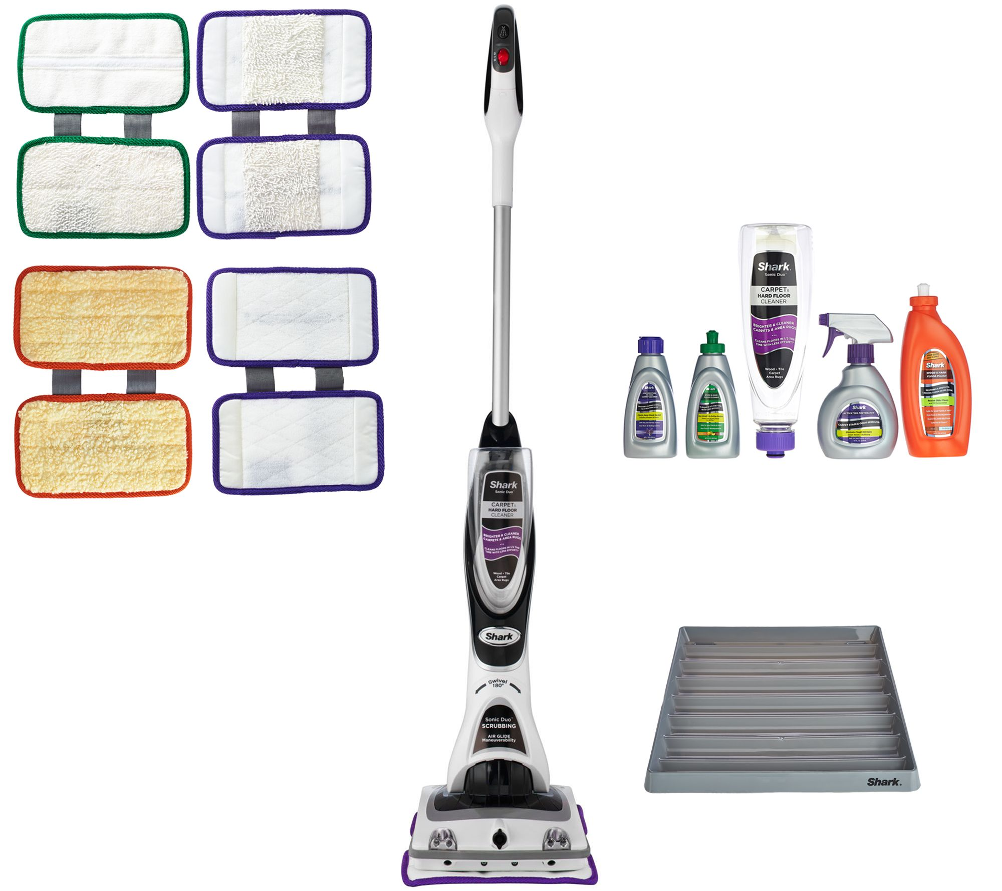 shark sonic duo carpets, rugs & hard surface floor cleaner - page