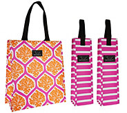 SCOUT Large Gift Bag with Two Beverage Totes - V34408