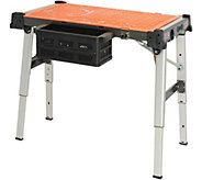 Durabench 4-in-1 Utility Work Station with USB Port and Wheels - V35508
