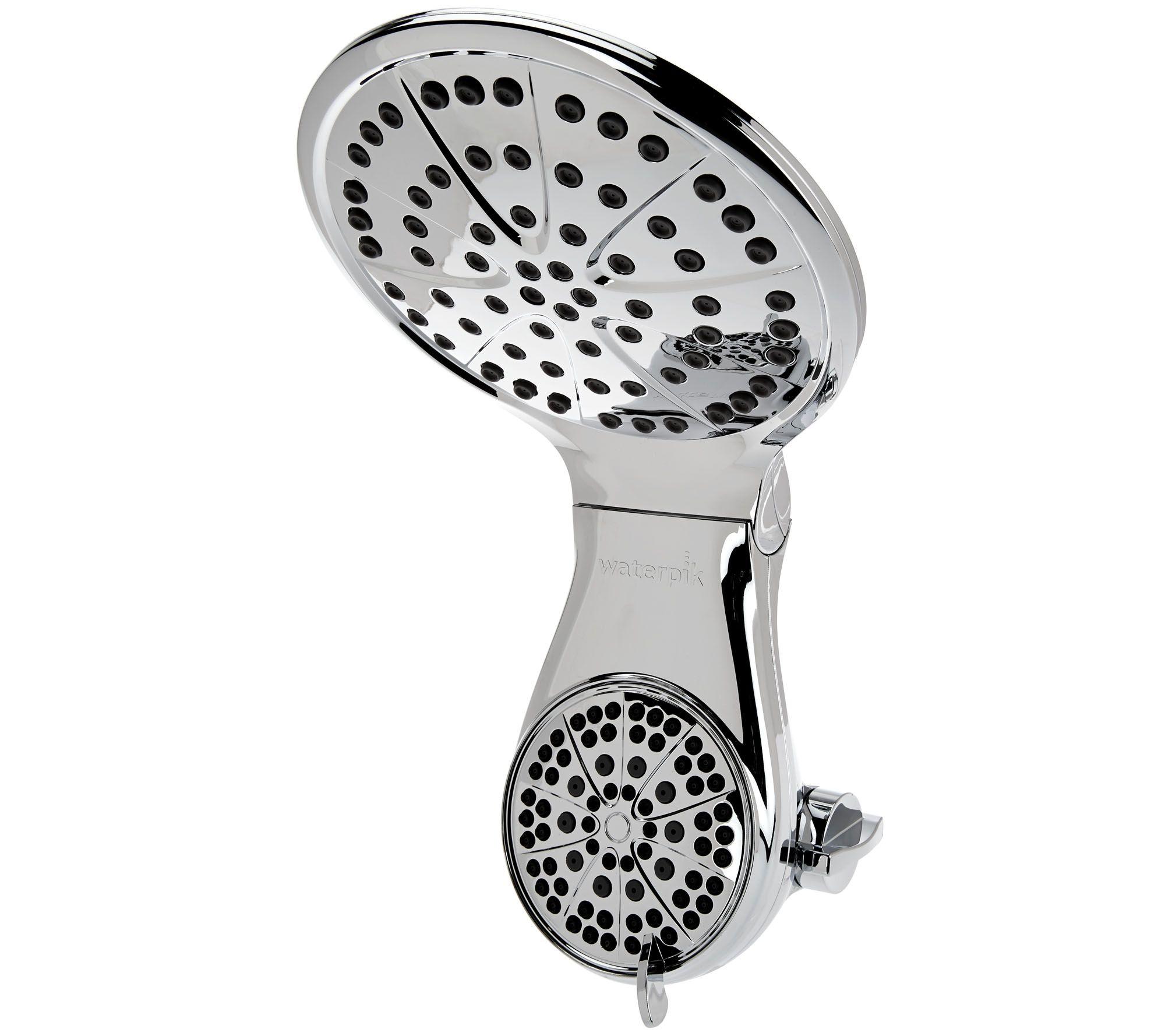 Waterpik Dualspray Drencher Showerhead w/ 7 Settings - Page 1 ...