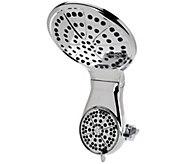 Waterpik Dualspray Drencher Showerhead w/ 7 Settings - V34309