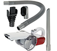 Black & Decker 18V Compact Pivot Hand Vac w/ 3 Pc. Tools and Storage Bag - V34010