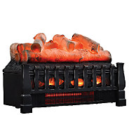 Duraflame Infrared Log Set Heater w/Flame Effect & Remote - V33511