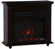 Duraflame 1500W Infrared Quartz 18 Rolling Mantle Heater - V33512