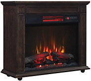 Duraflame 1500W Infrared Quartz 23 Rolling Mantle Heater - V33513